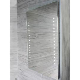 Specchio da bagno 60 x 80 cm( L x H) con luci led