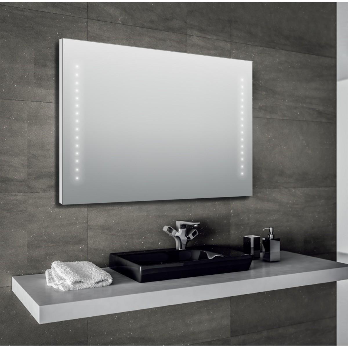 Specchio da bagno led 60x80 o 80x60 Giada-68