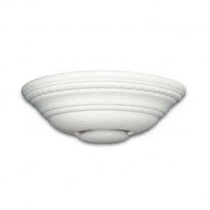 166/01200 - Applique en céramique avec émission de lumière Greca pouvant être peinte de haut en bas R7S
