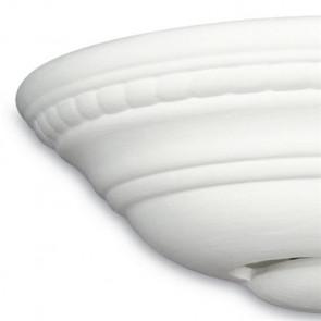 Struttura in Ceramica Verniciabile con Decoro Scolpito Linea Paula