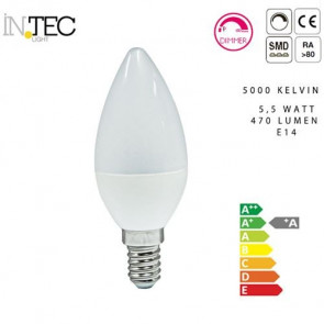Ampoule bougie LED Dimmable 3000 5000...