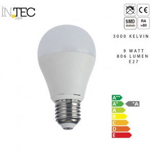 Lampadina Led 9 watt 3000 5000 kelvin...