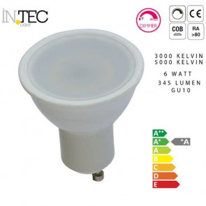 Lampadina Dimmerabile Led 3000 5000 kelvin GU10