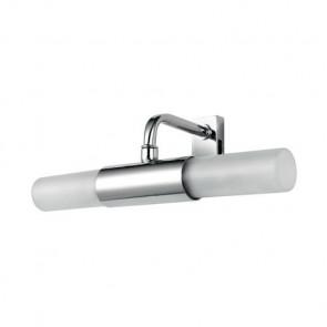 Spot-B-Roby-Cp - Applique avec fixation miroir de couleur nickel 28 Watt G9