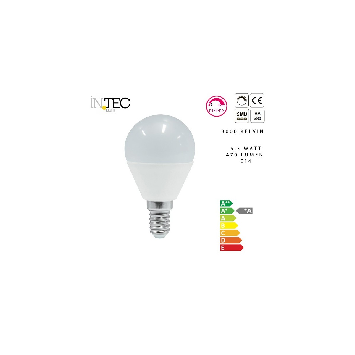 Ampoule Led Dimmable 3000 5000 Kelvin