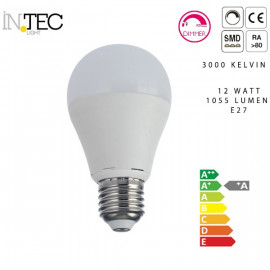 Ampoule Led Dimmable 12 watts 3000 5000
