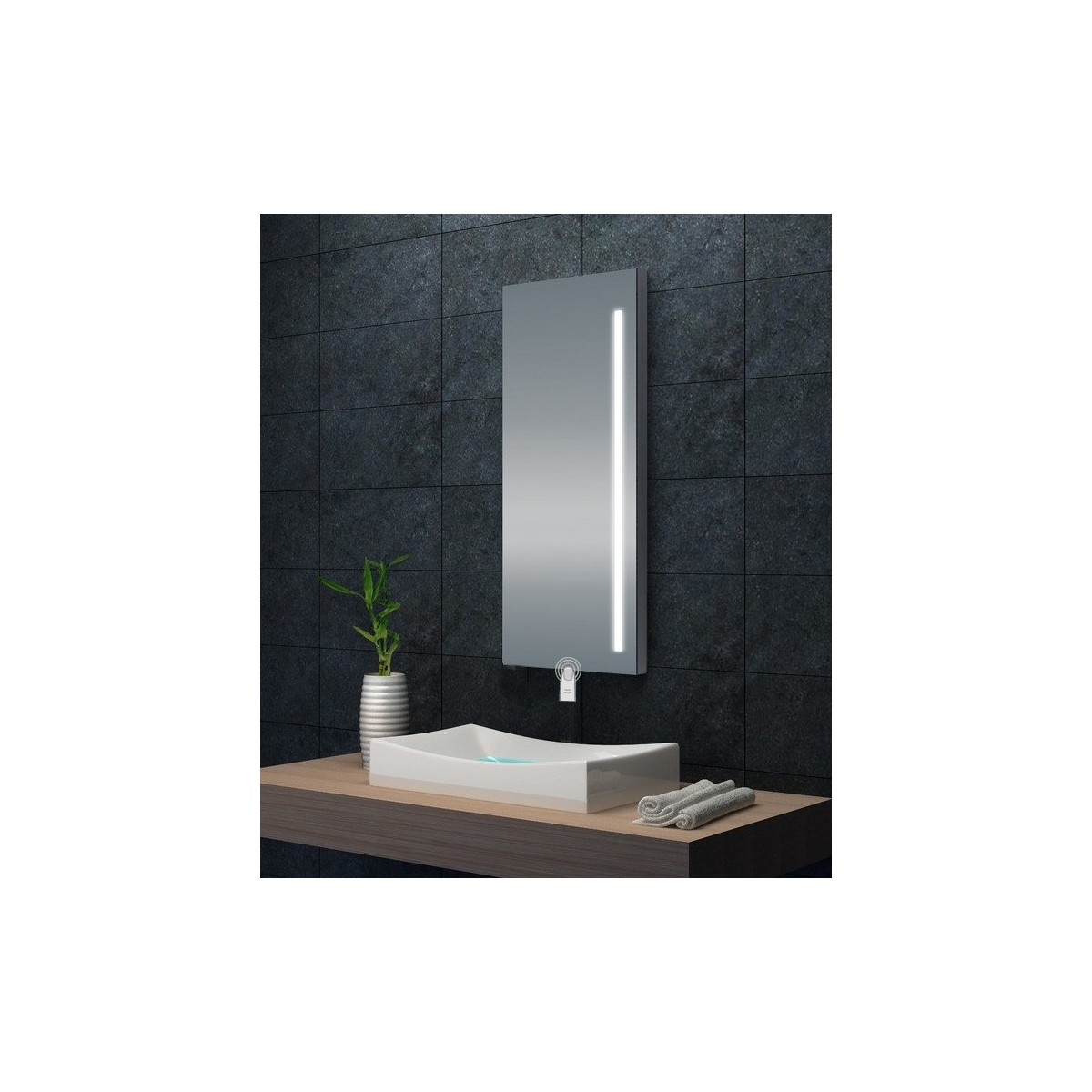 Miroir avec éclairage LED intégré Touch Moonlight 2.0