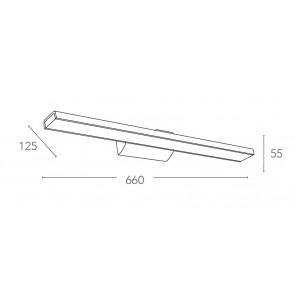LED-W-ANTARES / 8W BCO - Applique...