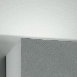 Led-W-Alfa/6W - Applique Cubica Moderna Di Colore Silver Con Luce Led 6 Watt 3000 Kelvin