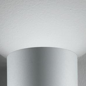 Applique en argent avec lumière LED...