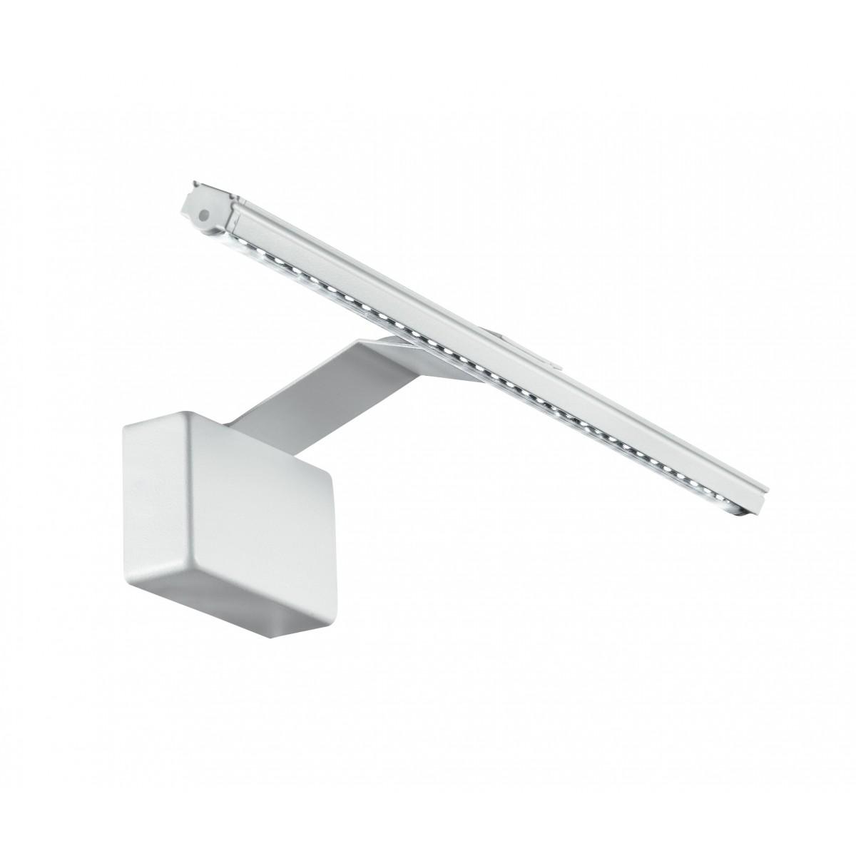 Led-W-Alcor / 5W Bco - Applique murale blanche moderne avec lumière LED 5 Watt 3500 Kelvin