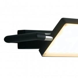 Struttura Orientabile Alluminio Nero Led-Book Fan Europe