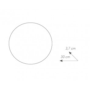 LED-ECLISSE / AP30 BCO - Applique...