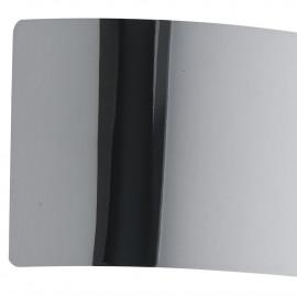 Applique murale dynamique en métal chromé Led Light 23 cm de large