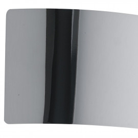 Applique Dynamic in Metallo Cromato Luce Led Larga 23 cm