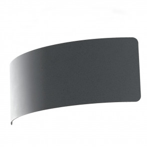 LED-DYNAMIC-AP23 GR- Minimal Applique Metal Arched Grey finition Modern Stone Led 6 watt Natural Light