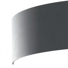Applique dynamique en métal gris Led largeur de lumière 23 cm
