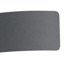 Applique 32 cm in Metallo Grigio Dynamic Fan Europe