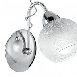 Décoration en métal torsadé et diffuseur en verre rond Opera Line