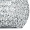 Decoro a Cerchi in Metallo con Cristalli K9 Linea Planet