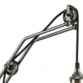 Applique con sistema a carrucole Altezza Regolabile Struttura in Metallo Linea Arkita