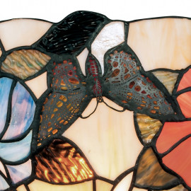 Diffuseur en verre avec décoration florale colorée Ligne Ninfa