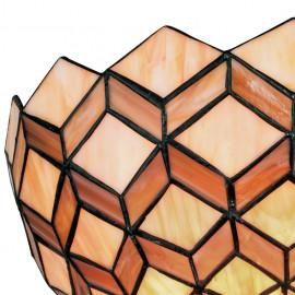 Diffusore in Vetro con Decoro Geometrico Artigianale Linea Liberty FanEurope