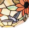 Diffuseur en verre avec décoration florale artisanale Applique Dafne FanEurope