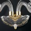 Structure en cristal avec finitions dorées et décoration en boucles Ligne Epoque FanEurope