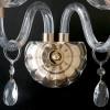 Pendentifs de décoration en or et ligne de réflexion de structure en cristal FanEurope