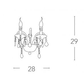 I-246/00800 - Applique 2 Lumières...