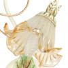 I-SPRING / AP1 - Diffuseur en verre floral avec bordure champagne