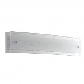 I-JOYCE/AP47X9 - Applique Moderna Decoro Linee Rettangolare Vetro Led 15 watt Luce Naturale