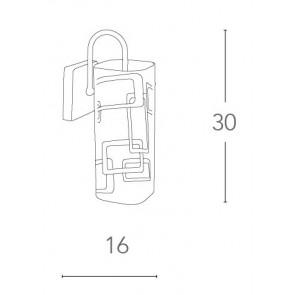I-TEOREMA-CIL/AP - Applique diffusore...