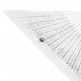 Diffusore Triangolare in Vetro Diamantato con Decoro a Raggi Linea Iside FanEurope