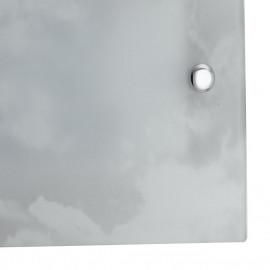 Diffusore in Vetro effetto Spugnato Bianco Linea Selene FanEurope