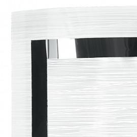 Diffusore in Vetro con Decoro Cromato Applique Oak FanEurope