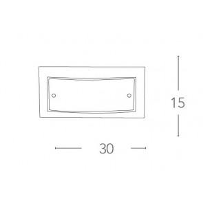 I-061228-3 - Applique rectangulaire...
