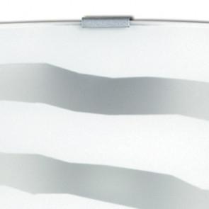 44/01100 - Applique en verre blanc...