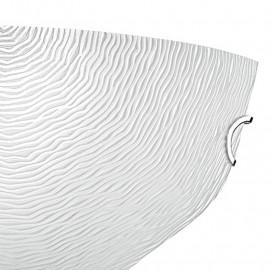 Applique avec diffuseur en verre blanc décoration en filigrane FanEurope