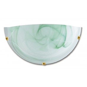 32/07112 - Applique murale en verre dégradé vert Applique classique E27