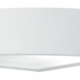 Structure en plâtre blanc Mykonos Applique