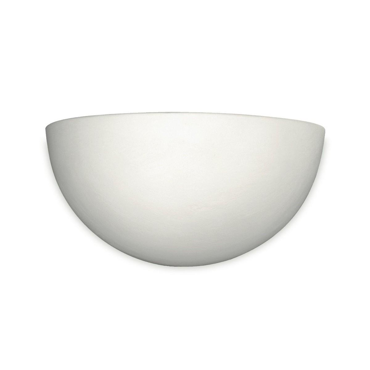 164/00200 - Applique à lunette en céramique Applique à peindre R7S
