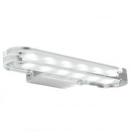 Applique con luci led trasparente dalla