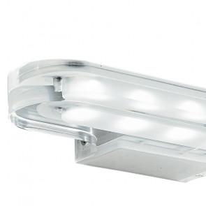 Applique con luci led trasparente...