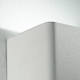 Applique bianca dalla forma cubica con