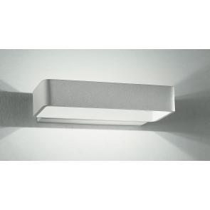 LED-W-OMEGA / 4W - Applique murale rectangulaire à LED à double ouverture pour la lumière 4 watts 3500 kelvin