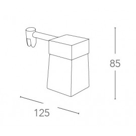 SPOT-B-DADO - Lampe de salle de bain