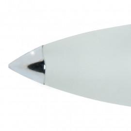 Diffuseur en verre avec détails chromés Ligne Stefany