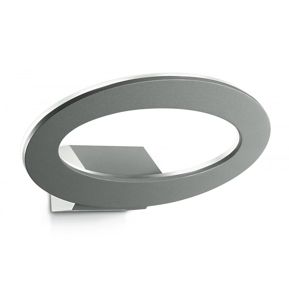 LED-EROS-AP Applique Lampada da Esterno In Alluminio Elittica A led 3000k